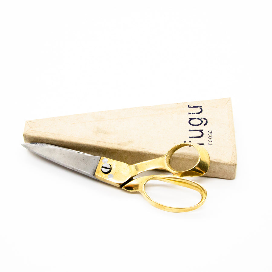 Brass scissors - medium