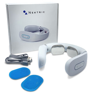 Nektric Pro 2 Pulse Massager - Nektric - White