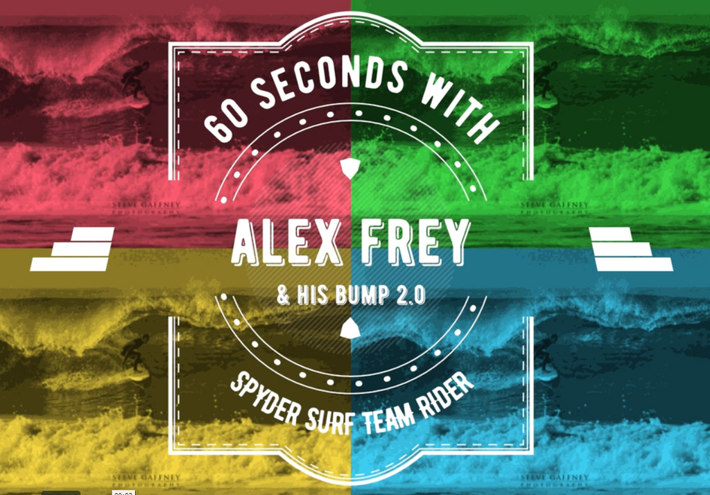 60 SECONDS WITH ALEX FREY & HIS BUMP 2.0!