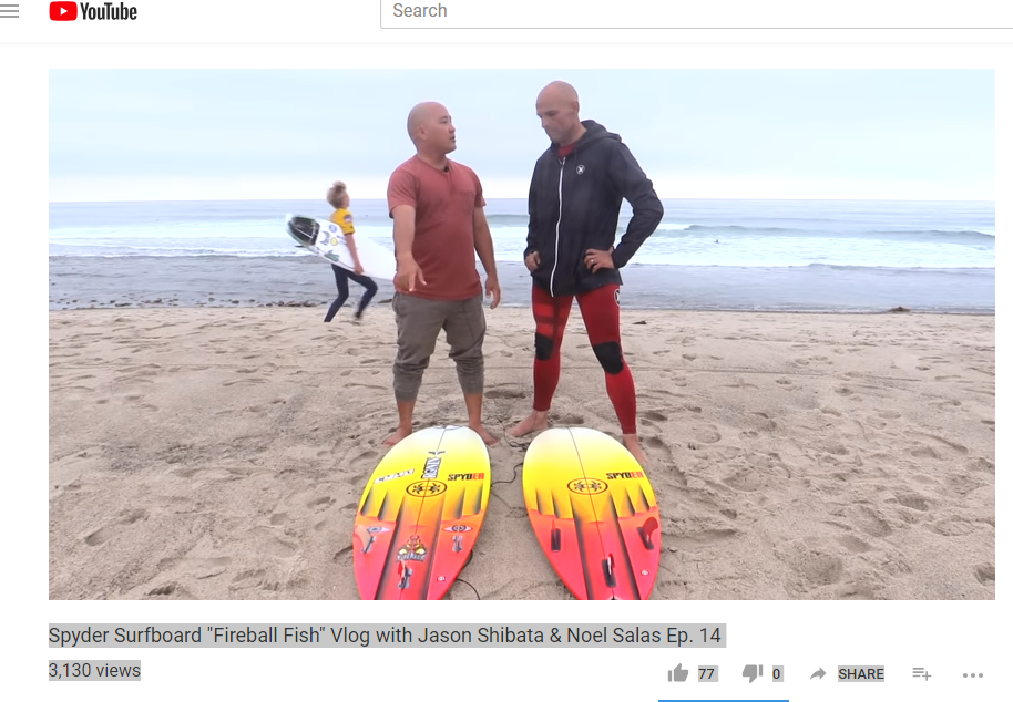 The Fireball Fish Surfboard Review - Jason Shibata & Noel Salas