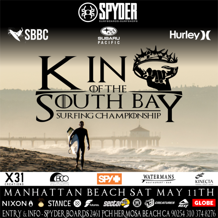 KING OF THE SOUTH BAY COMPETITION MAY 11th 2019