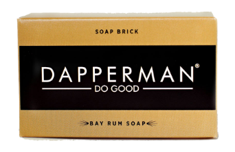 DAPPERMAN ORGANIC BAY RUM BODY SOAP BRICK