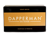 DAPPERMAN ORGANIC SPICED CITRUS DEODORIZING BODY SOAP BRICK