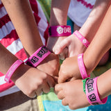 B4BC PINK IS PUNK WRISTBAND