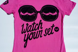 "B4BC X ROXY ""WATCH YOUR SET"" S/S TEE"