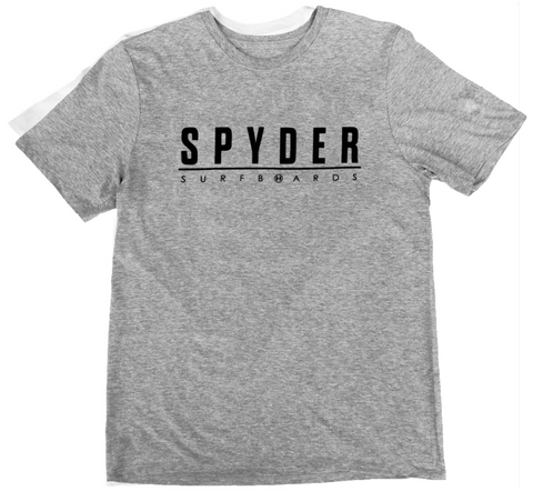 JARVIS DESIGNS, SPYDER SURFBOARDS SPYDER SURF CORP LINE T-SHIRT <p>JARMTJCORPLINE</p>, [description] - Spyder Surf