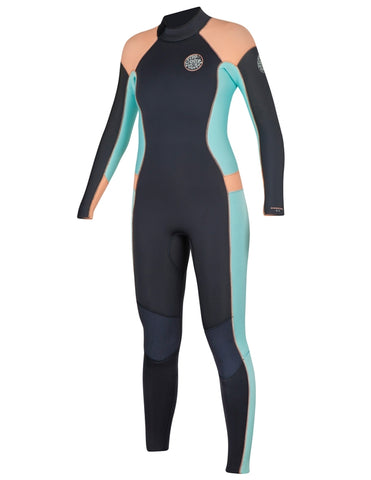 RIP CURL WETSUITS, RIPCURL WETSUITS WMN DPTRL 43 B/Z WSM6FW, [description] - Spyder Surf