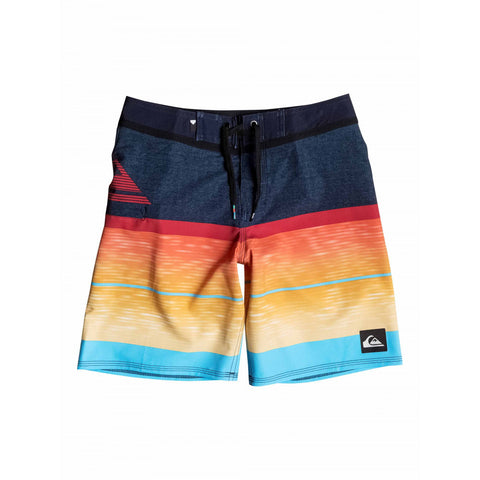 QUIKSILVER SLAB LOGO VEE BOARDSHORTS - YOUTH