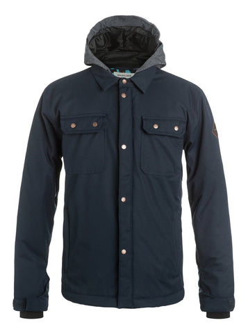 QUIKSILVER BOYS AMPLIFI SNOW JACKET