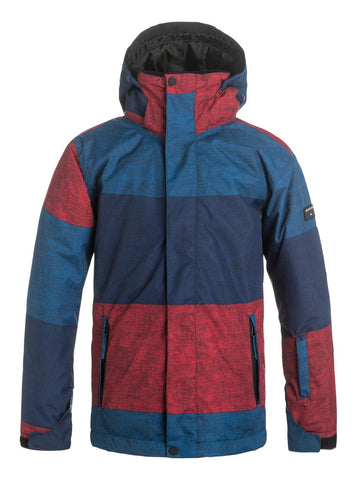 QUIKSILVER BOYS MISSION SNOW JACKET