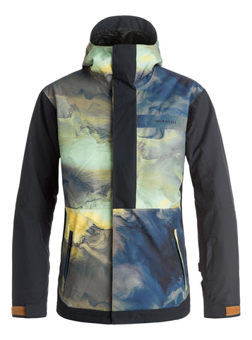 QUIKSILVER MENS AMBITION SNOW JACKET