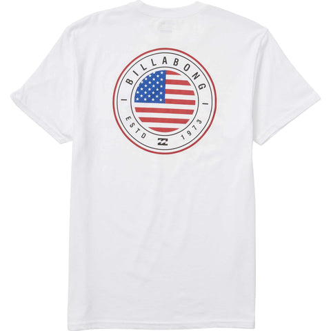 BILLABONG NATIVE ROTOR USA TEE