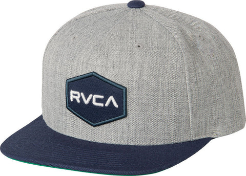 RUCA CLOTHING, RVCA COMMONWEALTH II SNAPBACK HAT MDAHWCWS, [description] - Spyder Surf