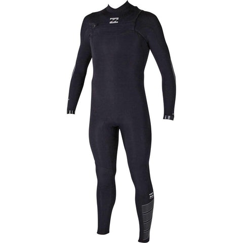 BILLABONG 4/3 FURNACE CARBON COMP CHEST ZIP FULL SUIT