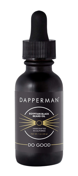 DAPPERMAN EGYPTIAN BLACK NATURAL BEARD OIL