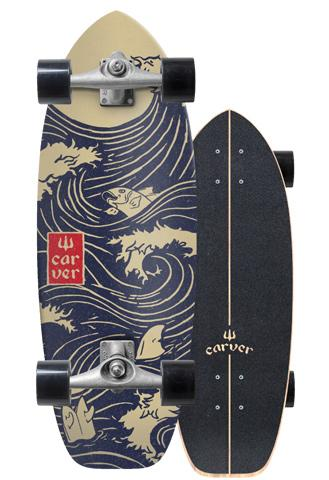 CARVER SKATEBOARDS CX RAW 28 SNAPPE C1012011019