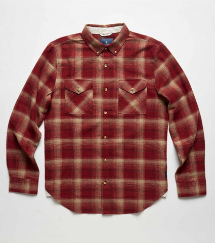 ROARK REVIVAL, ROARK CLOTHING TUNDRA FLANNEL RW328, [description] - Spyder Surf