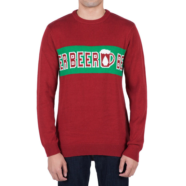 STRANGE BREW XMAS SWEATER