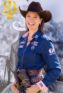 Rusty Brown Shines On Carrie Hirshberg - Cowgirl Magazine Article