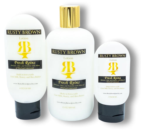Fresh Reins, Lotion - Rusty Brown