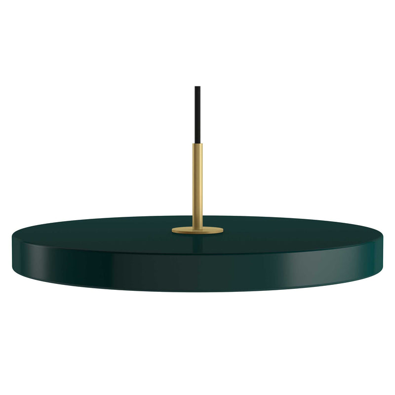 Forest Green taklampa i diskusform med integrerade LED-lampor