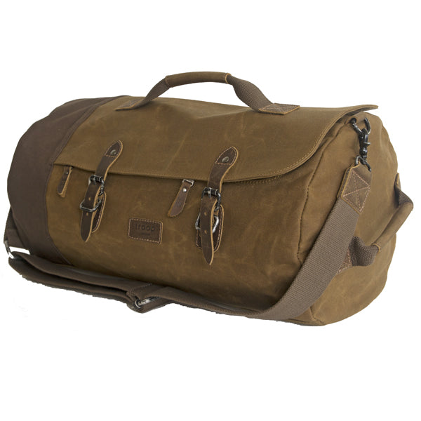 Troop Heavy Wax Duffle Sand