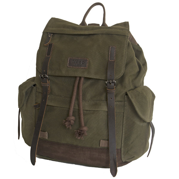 Troop Heavy Wax Backpack