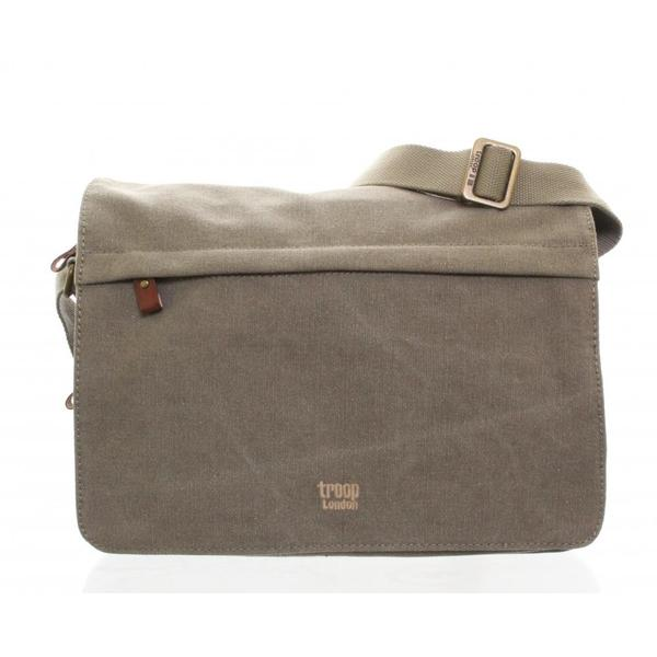 Troop London Canvas Classic Messenger Bag