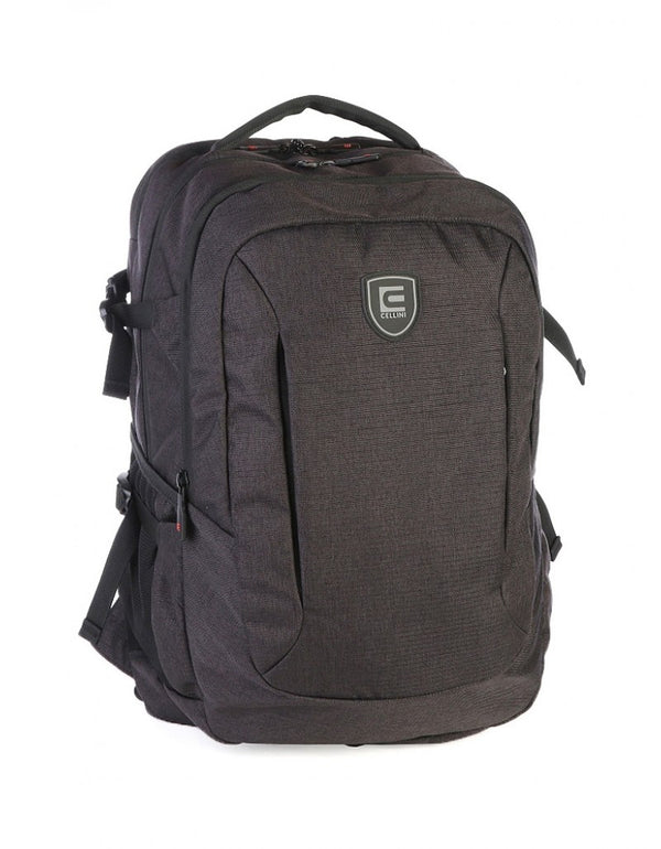Cellini Uni Ace Multi Pocket Backpack Black