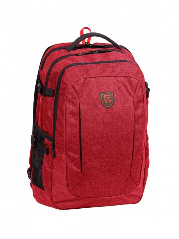 Cellini Uni Ace Multi Pocket Backpack Red