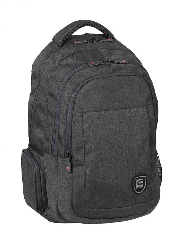 Cellini Uni Multi Pocket Backpack Black