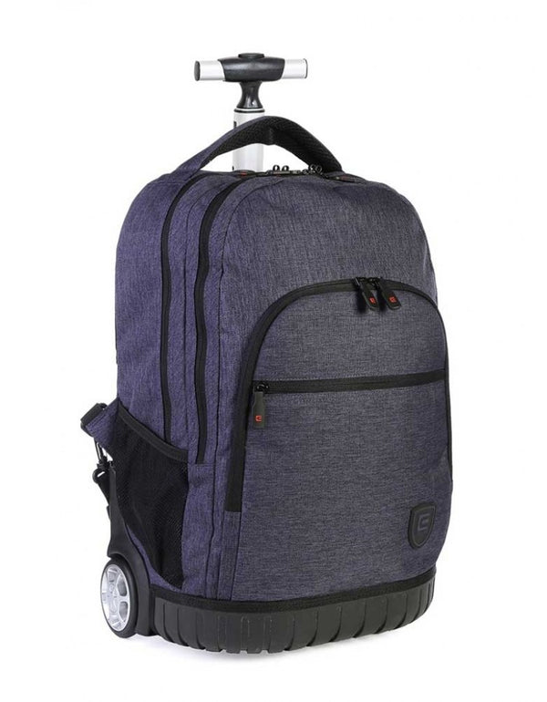 Cellini Uni Trolley Backpack Blue