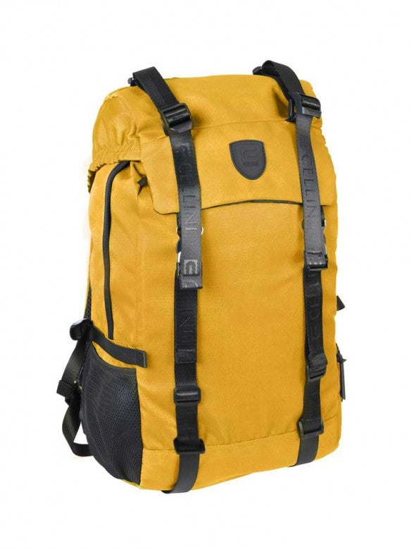 Cellini Uni Flap Over Backpack Yellow
