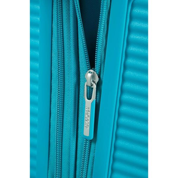 American Tourister Soundbox Expandable 55cm Denim Blue