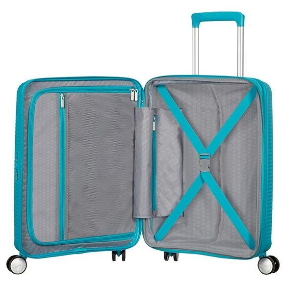 American Tourister Soundbox Expandable 67cm Denim Blue
