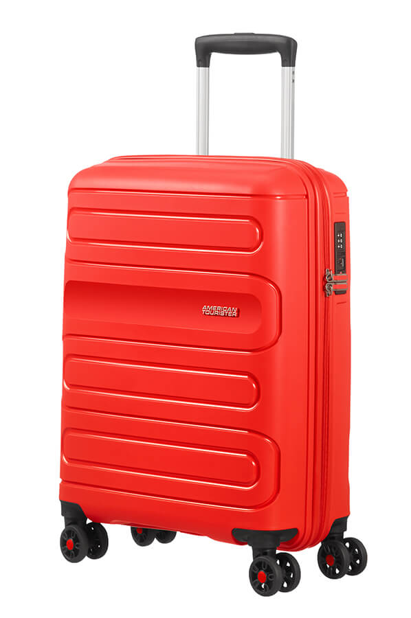 American Tourister Sunside Spinner 55cm Sunset Red