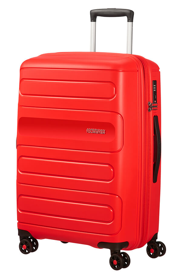American Tourister Sunside 3 Piece Set Sunset Red