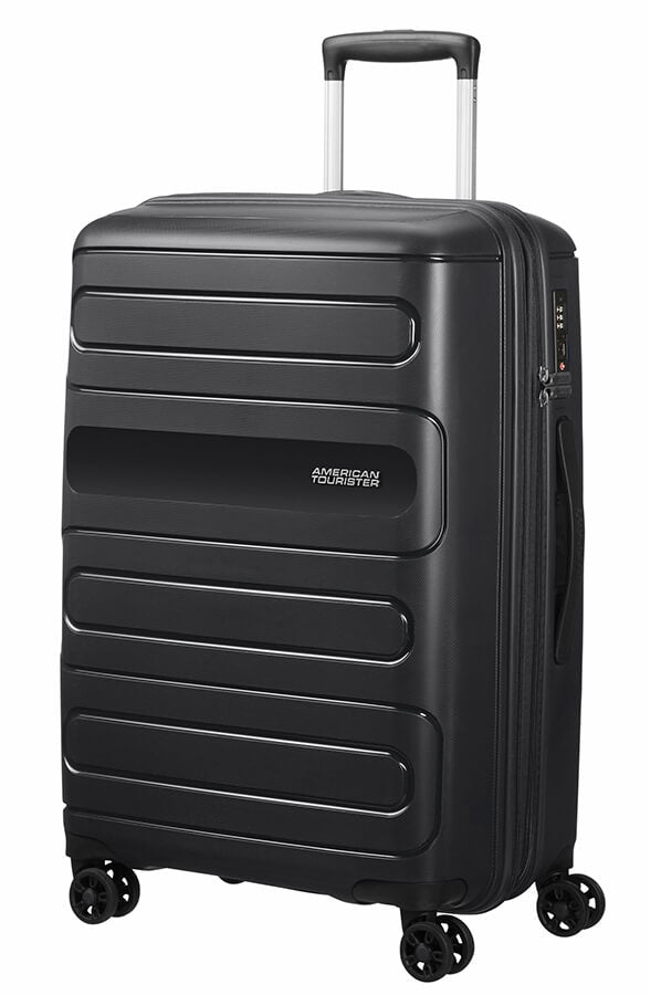 American Tourister Sunside Spinner Expandable 68cm Black
