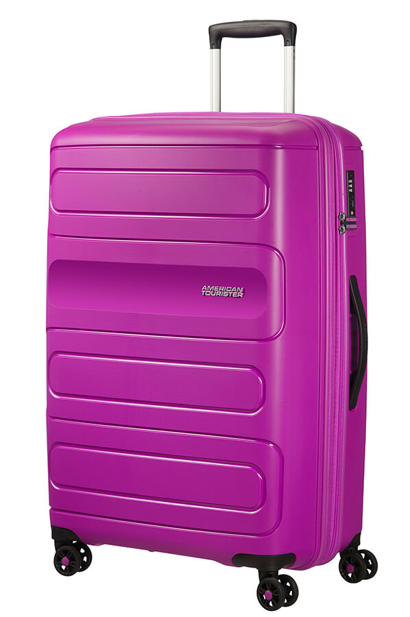 American Tourister Sunside Spinner Expandable 77cm Ultraviolet