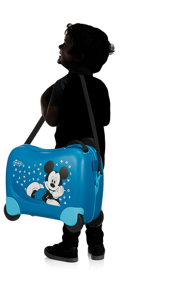Samsonite Dream Rider Mickey Letters Suitcase