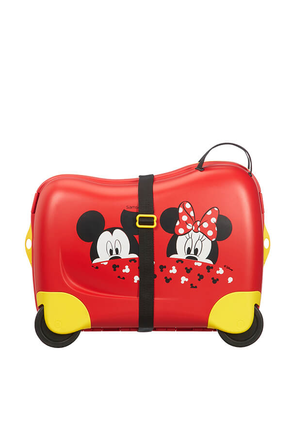 Samsonite Dream Rider Mickey/Minnie Peeking Suitcase