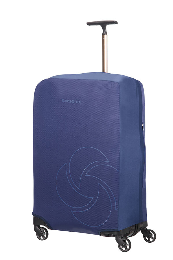 Samsonite Foldable Luggage Cover Medium Blue