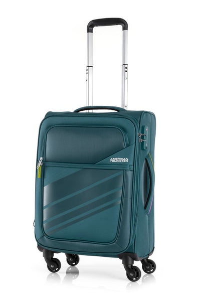 American Tourister Stirling 56cm Expandable Teal