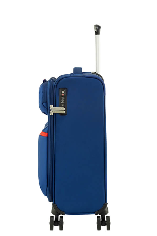 American Tourister Matchup 55cm Spinner Neon Blue