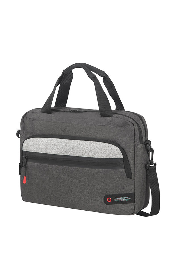 American Tourister City Aim Laptop Bag 15.6 Grey