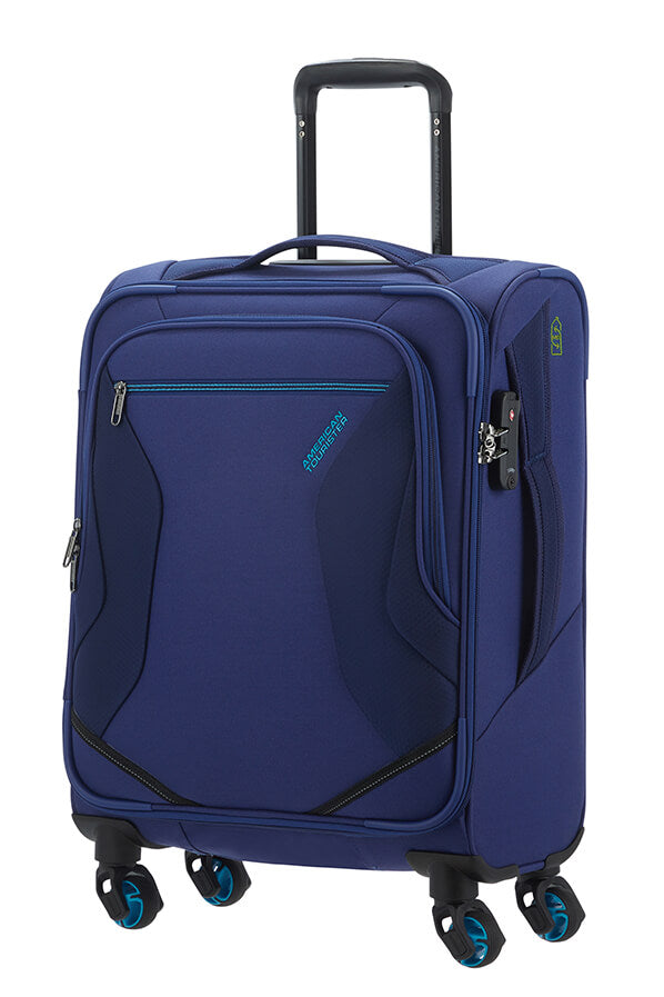American Tourister Eco Wanderer 55cm Navy