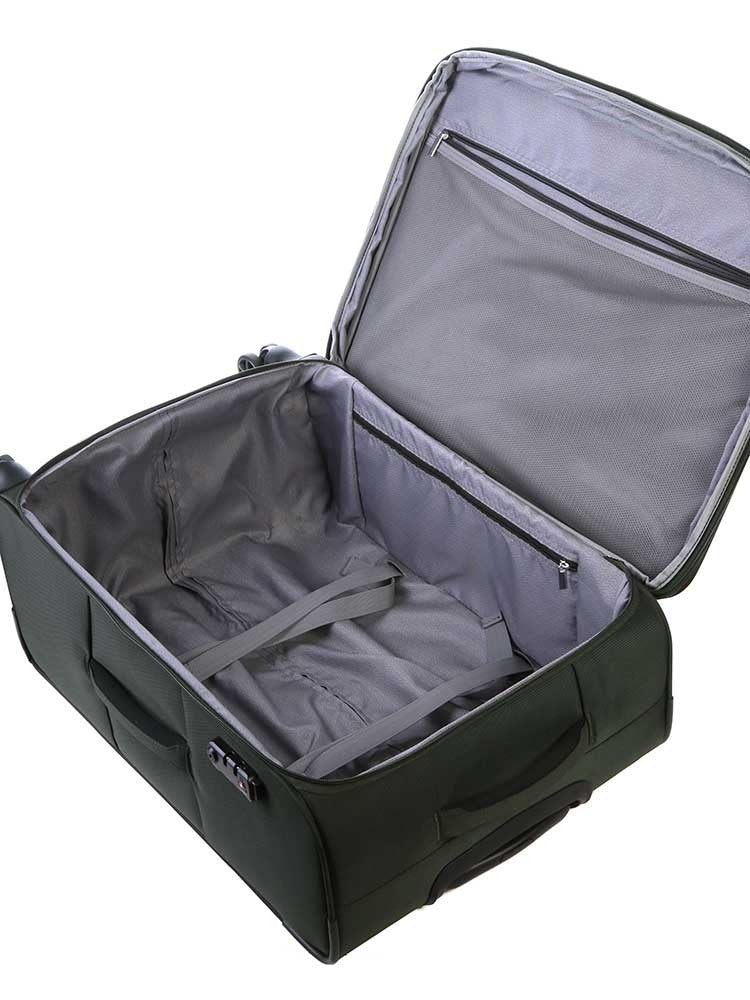 Cellini Optima 55cm Carry On Spinner Hunter Green
