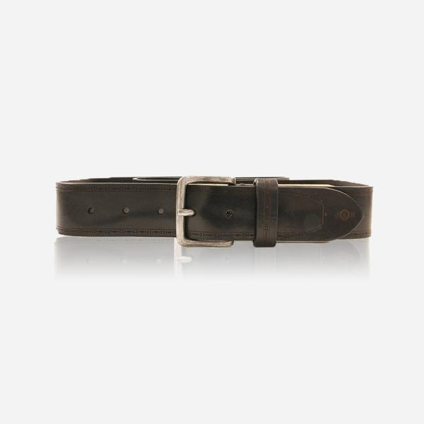 Jekyll And Hide Nevada Men's Belt Size 44 Black