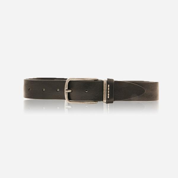 Jekyll And Hide Nevada Men's Belt Stich Size 40 Black