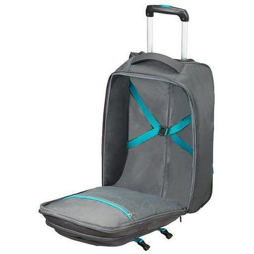 American Tourister Road Quest Backpack Grey/Turquoise